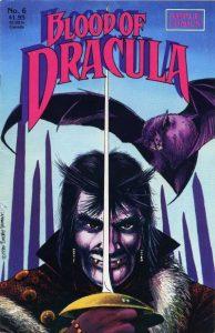Blood of Dracula #6 (1988)