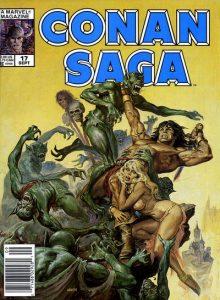 Conan Saga #17 (1988)