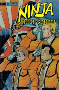Ninja High School #7 (1988)
