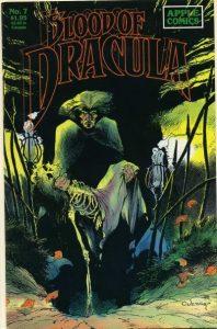 Blood of Dracula #7 (1988)