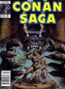 Conan Saga #18 (1988)