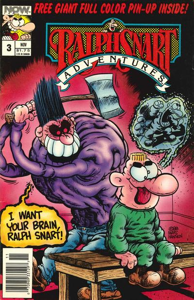 Ralph Snart Adventures #3 (1988)