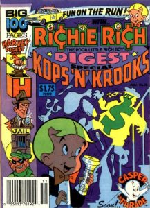 Richie Rich Digest Magazine #16 (1988)