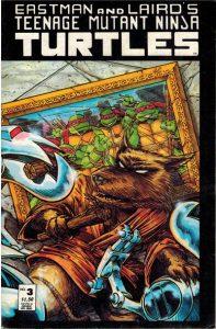 Teenage Mutant Ninja Turtles #3 [Second Printing] (1988)