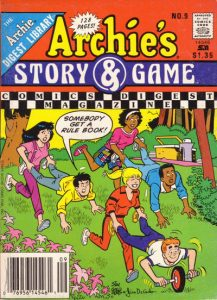 Archie's Story & Game Digest Magazine #9 (1988)