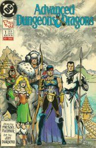 Advanced Dungeons & Dragons Comic Book #1 (1988)