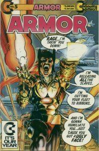 Armor #5 (1988)