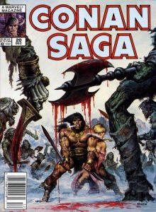 Conan Saga #20 (1988)