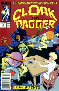 The Mutant Misadventures of Cloak and Dagger #2 (1988)