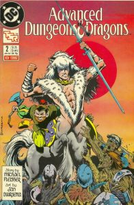 Advanced Dungeons & Dragons Comic Book #2 (1988)