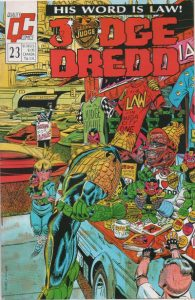 Judge Dredd #23 [UK] (1989)