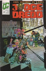 Judge Dredd #22 [UK] (1989)
