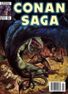 Conan Saga #21 (1989)
