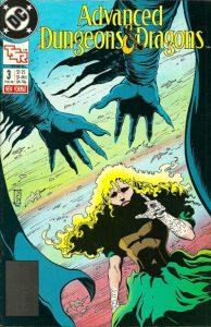 Advanced Dungeons & Dragons Comic Book #3 (1989)