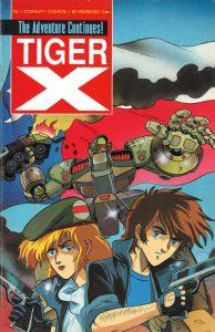 Tiger-X Book II #2 (1989)