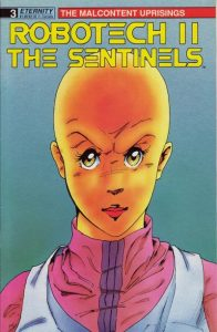 Robotech II: The Sentinels: The Malcontent Uprisings #3 (1989)