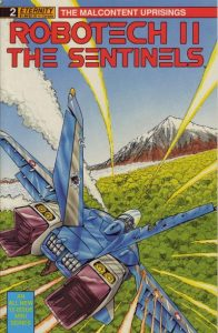Robotech II: The Sentinels: The Malcontent Uprisings #2 (1989)