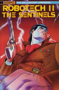 Robotech II: The Sentinels: The Malcontent Uprisings #5 (1989)