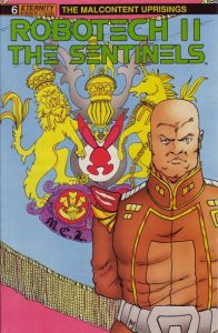 Robotech II: The Sentinels: The Malcontent Uprisings #6 (1989)