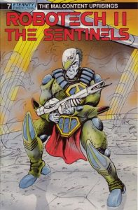 Robotech II: The Sentinels: The Malcontent Uprisings #7 (1989)