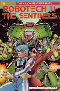 Robotech II: The Sentinels: The Malcontent Uprisings #9 (1989)