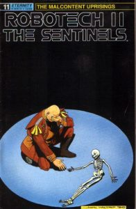 Robotech II: The Sentinels: The Malcontent Uprisings #11 (1989)