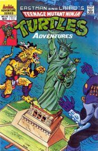 Teenage Mutant Ninja Turtles Adventures #20 (1989)