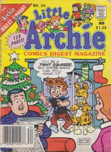 Little Archie Comics Digest Magazine #34 (1989)