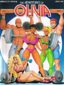 The Adventures of Olivia #4 (1989)