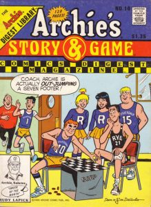 Archie's Story & Game Digest Magazine #10 (1989)