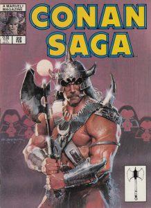 Conan Saga #22 (1989)