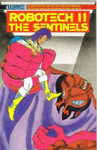 Robotech II: The Sentinels #4 (1989)