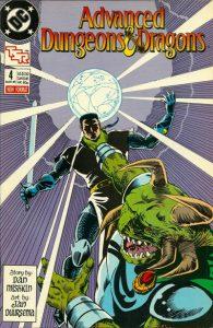 Advanced Dungeons & Dragons Comic Book #4 (1989)