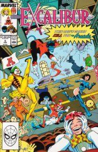 Excalibur #5 (1989)