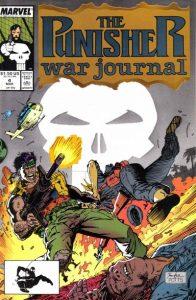 The Punisher War Journal #4 (1989)