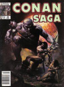 Conan Saga #23 (1989)