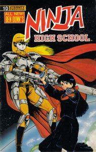 Ninja High School #10 (1989)