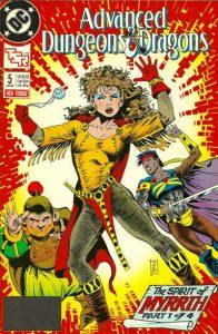 Advanced Dungeons & Dragons Comic Book #5 (1989)