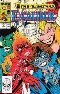 Excalibur #6 (1989)