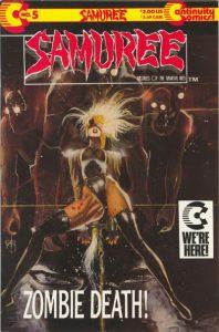 Samuree #5 (1989)
