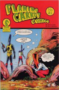 Flaming Carrot Comics #21 (1989)