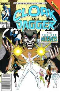The Mutant Misadventures of Cloak and Dagger #4 (1989)