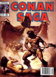 Conan Saga #24 (1989)