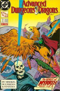 Advanced Dungeons & Dragons Comic Book #7 (1989)