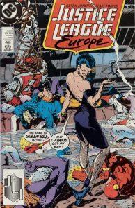Justice League Europe #4 (1989)