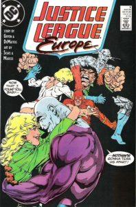Justice League Europe #5 (1989)
