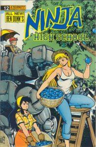 Ninja High School #12 (1989)