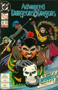 Advanced Dungeons & Dragons Comic Book #8 (1989)