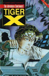 Tiger-X Book II #1 (1989)