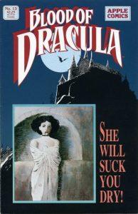 Blood of Dracula #13 (1989)